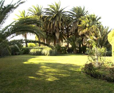 La Viña del Bailio, S. XVIII, tiene un bonito Jardin