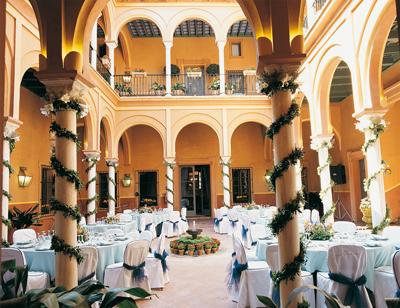 Patio de Columnas de la Casa de Carmona